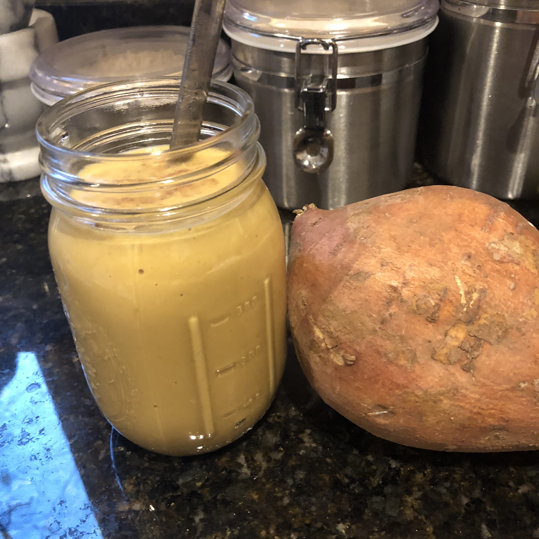 Luteal Phase Hormone Balancing Sweet Potato Smoothie